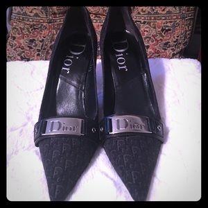 Dior Signature black pumps. Size 36.5